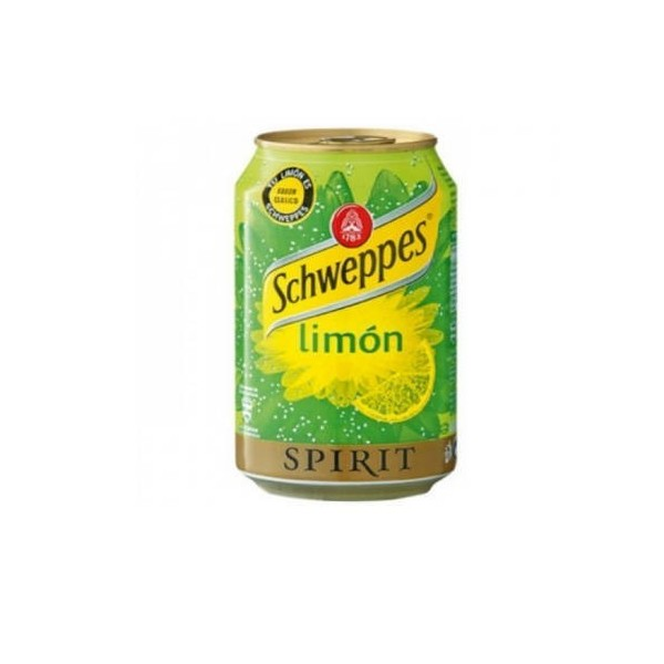 Lemon Schweppes Lata 33 Cl pack 24