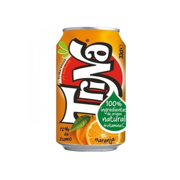 Orange Trina can 33 Cl pack 24