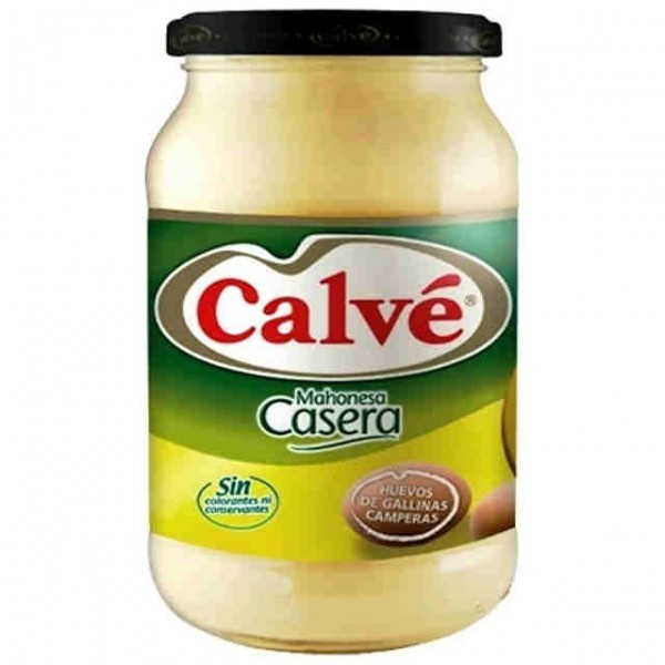 Spanish Mayonnaise Calve Home made 450 Ml