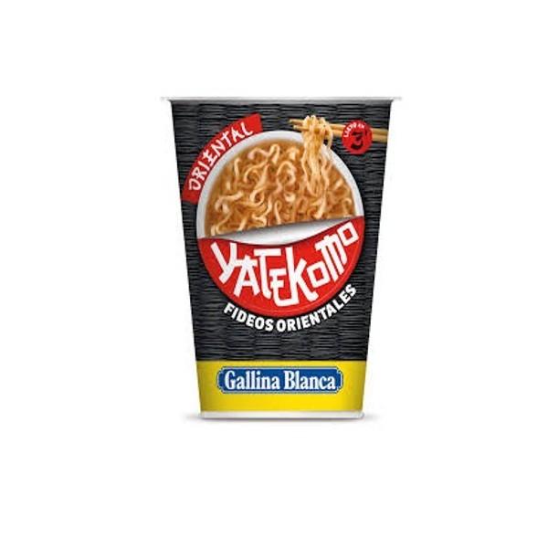 Japanese noodles Yatekomo Oriental 61G Gallina Blanca