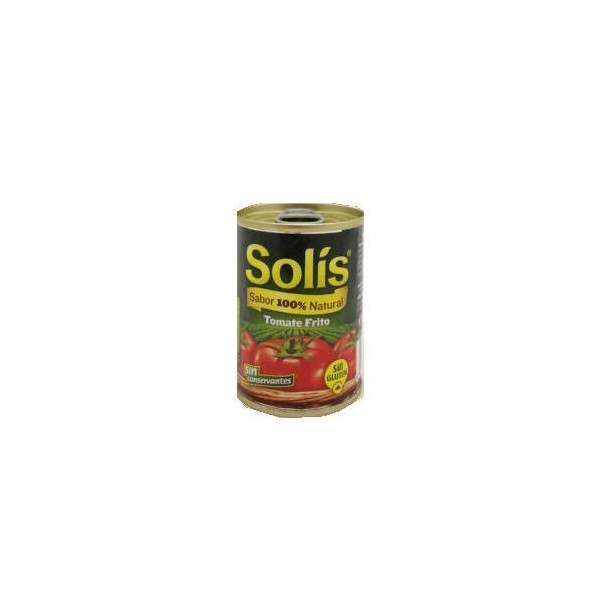 Spanish fried tomato sauce Solis 140 Gr canned