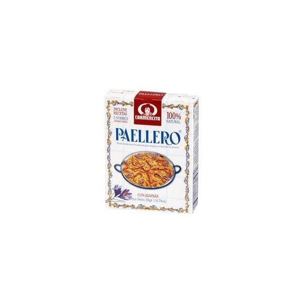 Epices pour paella Paellero 5 sachets 20 Grs - Carmencita