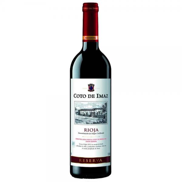 Wine Rioja Coto Imaz Reserve 75 Cl 13,5º
