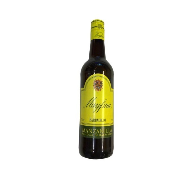 Wine Manzanilla Barbadillo Muy Fina 75 Cl