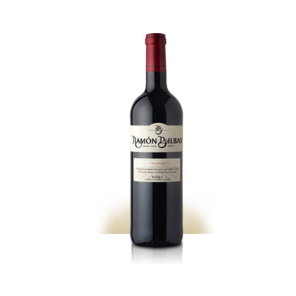Red wine Ramon Bilbao Crianza 75 Cl