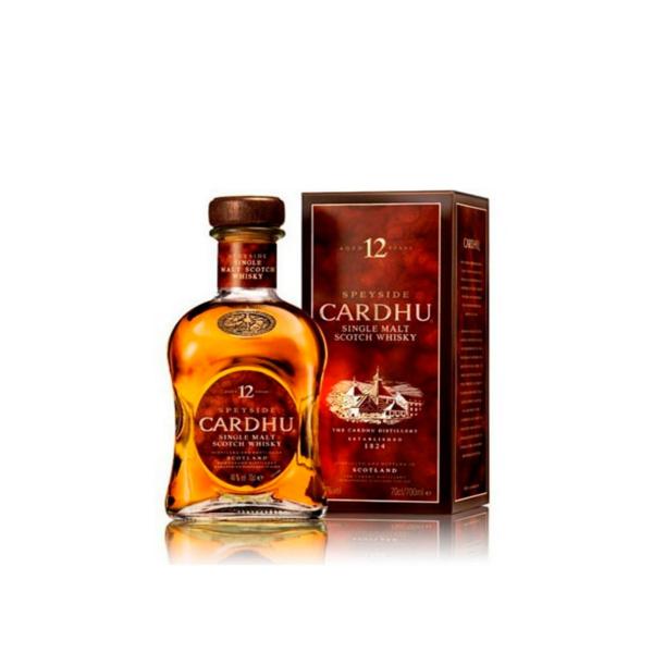 Whisky 12 an os 70 cl Cardhu 40º
