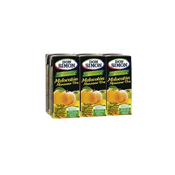 Peach juice Mini Brik 200ml Don Simon pack 30
