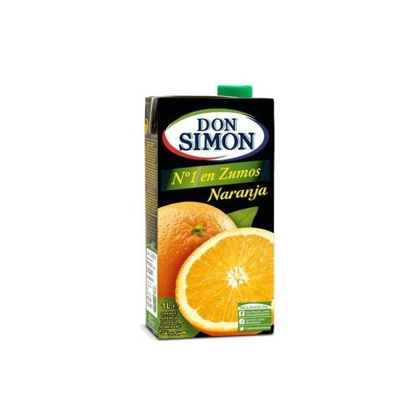 Orange juice Brik 1 liter Don Simon