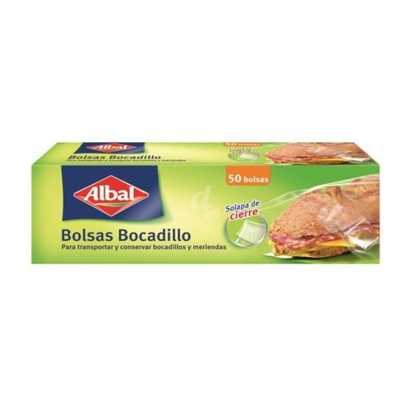 Sandwich bag Albal 50 Units