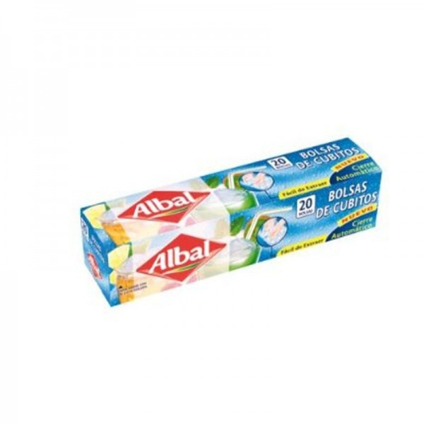 Ice Cube Bag Albal 20 Units