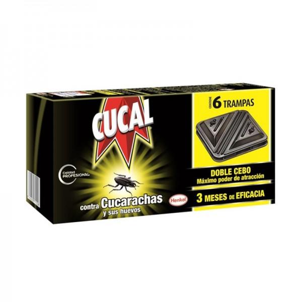 Cucal Cockroach Traps 6 Units