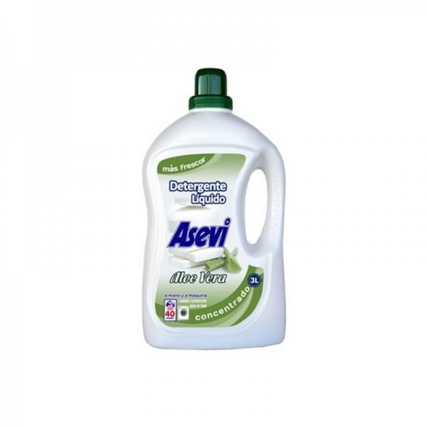 Asevi - Liquid Laundry Aloe Vera 3 Liter