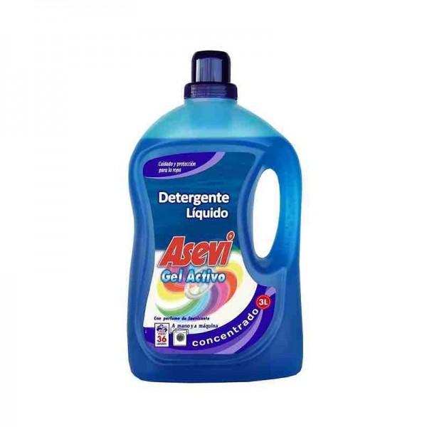 Asevi - Liquid Laundry Liquid Gel Active 3 Liters