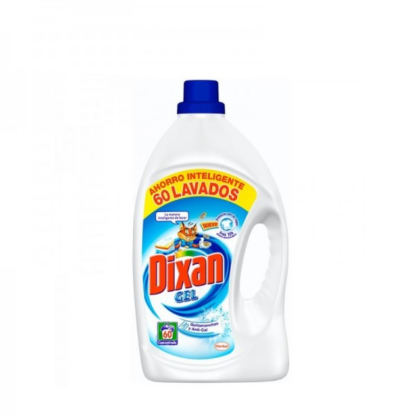 Dixan - Laundry Liquid Wash Gel 60 Doses