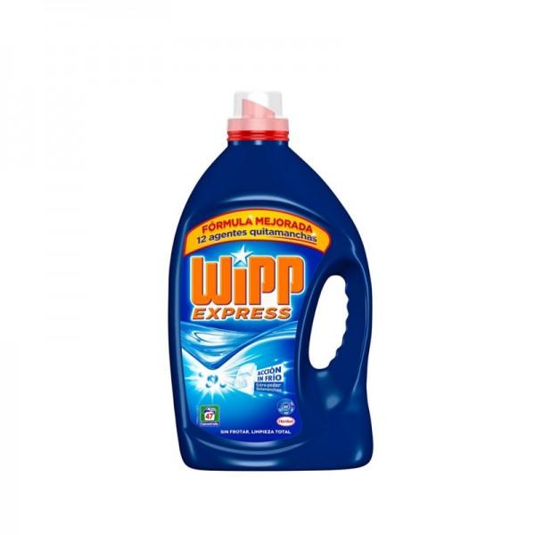 Bundle - Wipp Liquid detergent 47 Doses + Bleach Estrella 1,5 Liter