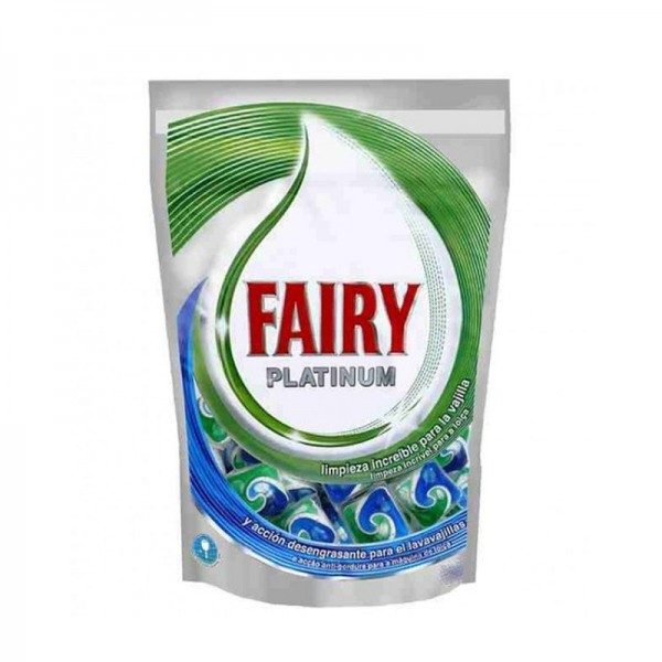 Fairy Platinum Dishwasher 12 Free +2 Pellets