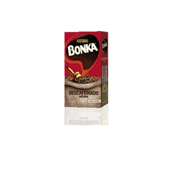 Bonka ground decaffeinated Coffee 250 Grs