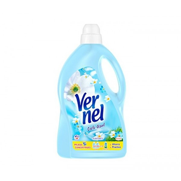Vernel - Blue fabric softener 36 Washing machine 2,250 Liters