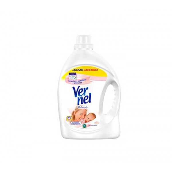 Vernel - Delicate fabric softener 36 Washings 2,250 Liters